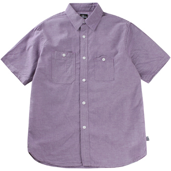 stussy purple oxford